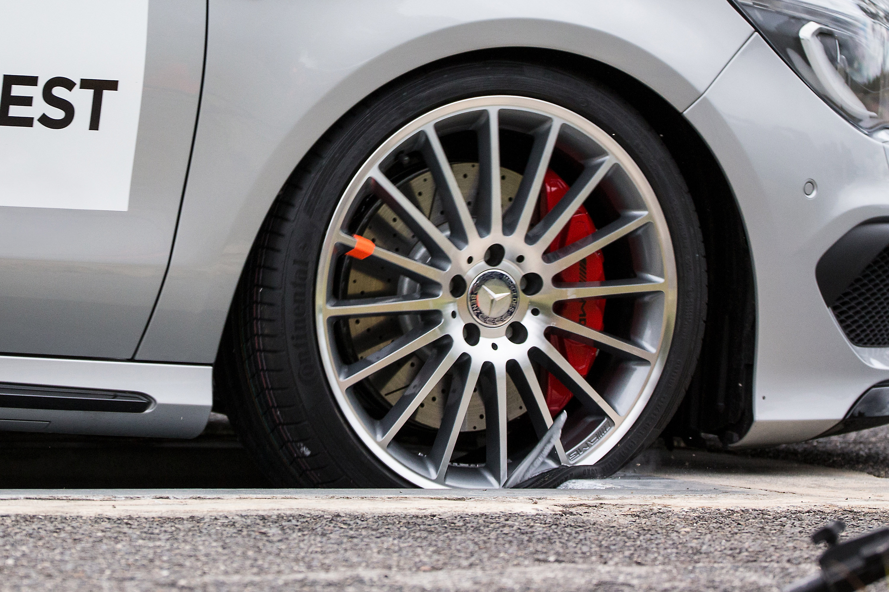 Counterfeit wheels failed at 50km/h in a standard pothole test.