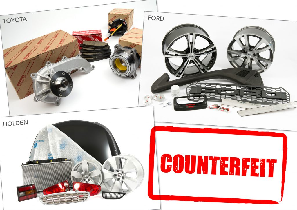 The Federal Chamber of Automotive Industries (FCAI) is concerned by the escalation in counterfeit car parts coming into Australia.